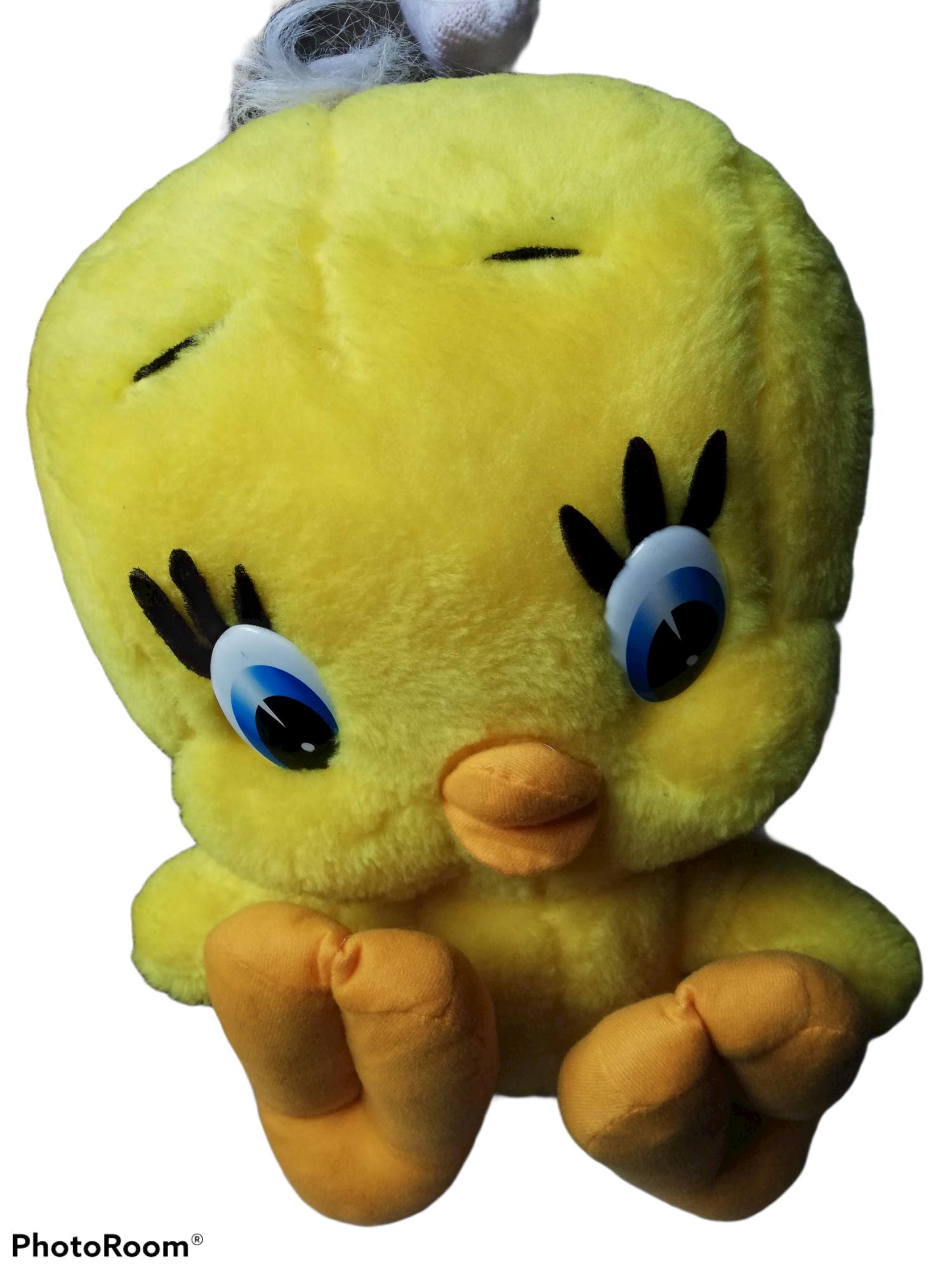 Tweety knuffel 46 cm hoog
