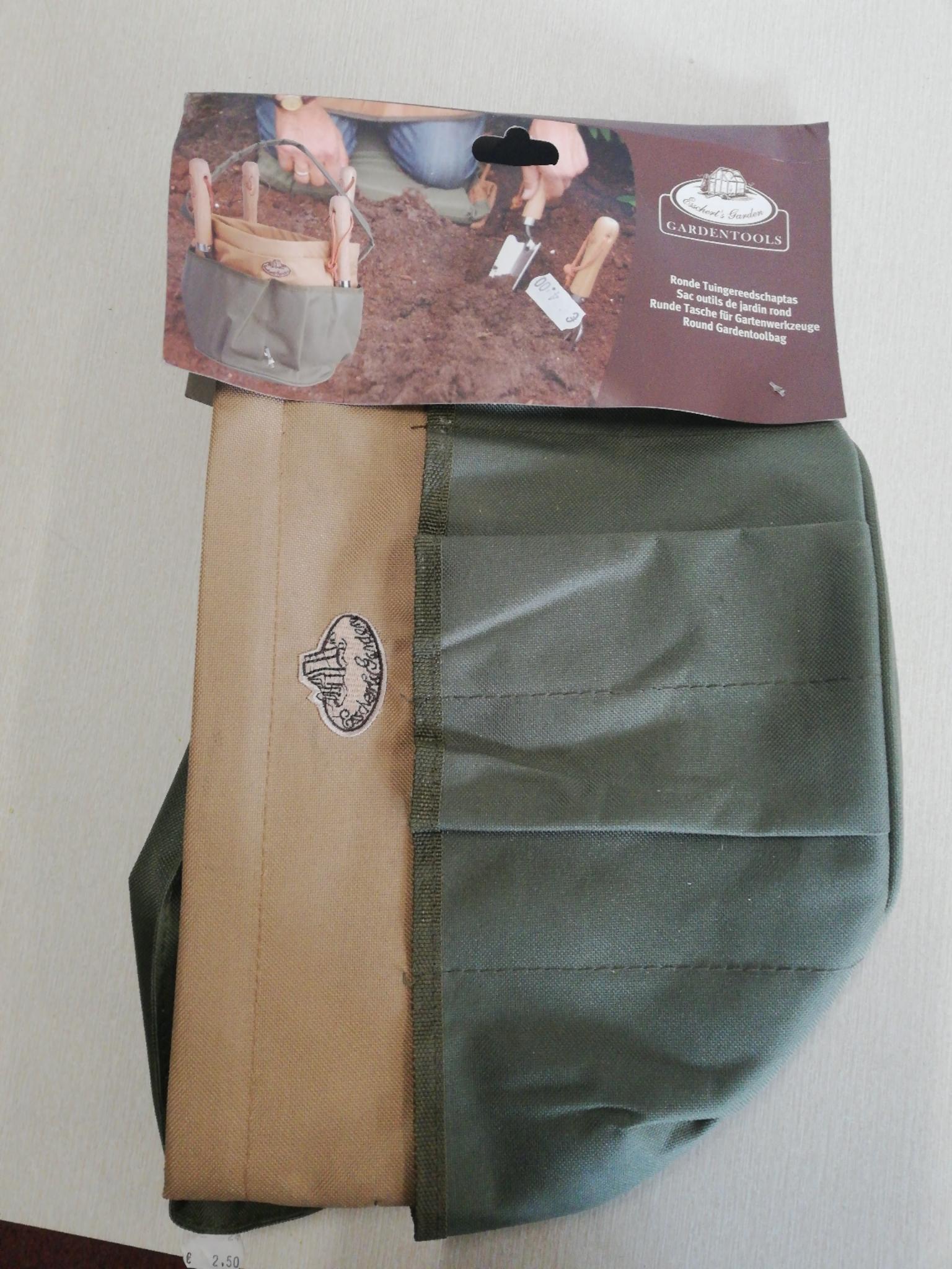 Ronde tuingereedschap tas