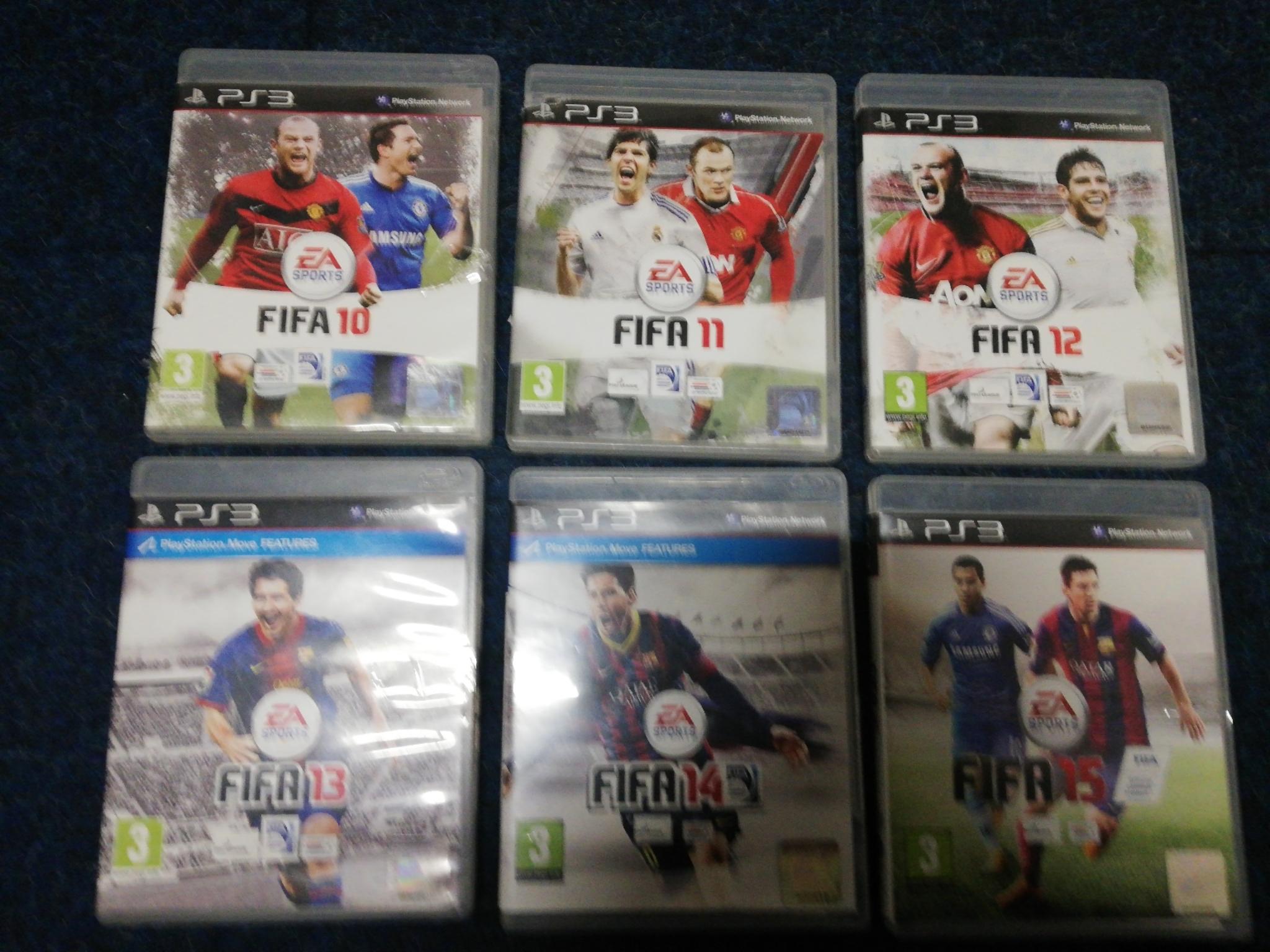 Playstation 3 spellen fifa set